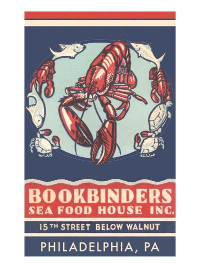 Lobsters Advertisement--Art Print