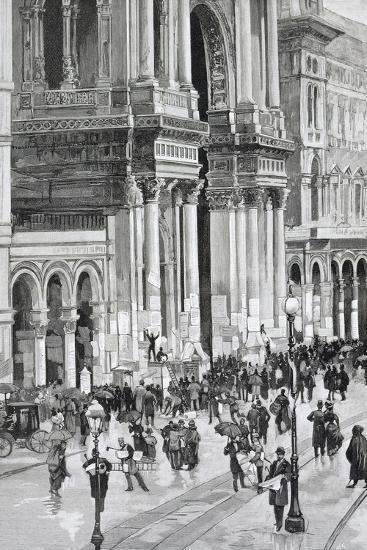 Local Elections, February 10, 1895 in Milan--Giclee Print