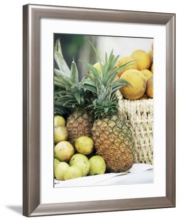 Local Fruit, Martinique, Lesser Antilles, West Indies, Caribbean, Central America-Yadid Levy-Framed Photographic Print