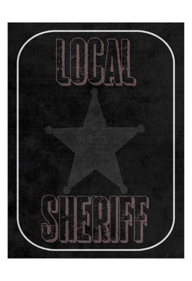 Local Sheriff-Sheldon Lewis-Art Print