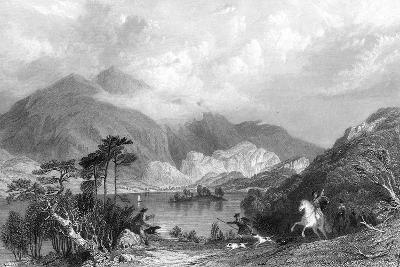 Loch Achray, Perthshire, Scotland, 19th Century-JC Armitage-Giclee Print