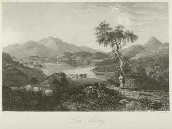 Loch Achray--Giclee Print