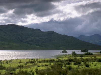 Loch Arklet, Part of Loch Lomond and the Trossachs National Park, Stirlingshire, Scotland, UK-Patrick Dieudonne-Photographic Print