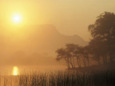 Loch Awe at Sunrise, Argyll, West of Scotland-Mark Hamblin-Photographic Print