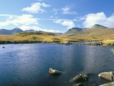 Loch Ba and the Black Mountains in Autumn, Rannoch Moor, Scotland-Pearl Bucknall-Photographic Print