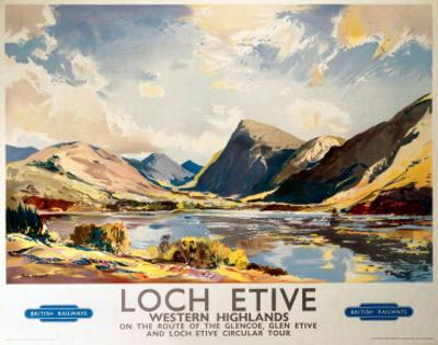 Loch Etive, Western Highlands, BR(ScR), c.1948-1965