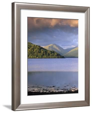Loch Fyne from Inveraray, Argyll and Bute, Scotland, United Kingdom, Europe-Patrick Dieudonne-Framed Photographic Print
