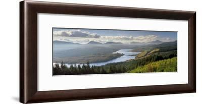 Loch Garry and Glen Garry, Near Fort Augustus, Highland Region, Scotland, United Kingdom, Europe-Patrick Dieudonne-Framed Photographic Print