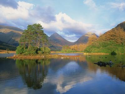 Loch in Glen Etive, Highlands, Scotland, United Kingdom, Europe-Rainford Roy-Photographic Print