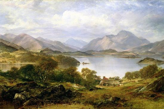 Loch Lomond, 1861 Giclee Print by Horatio Mcculloch | Art com