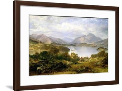 Loch Lomond, 1861-Horatio Mcculloch-Framed Giclee Print