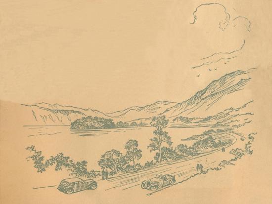 'Loch Lomond', c1936-Unknown-Giclee Print