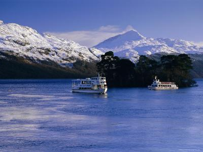 Loch Lomond in Winter, Argyll and Bute, Scotland, UK, Europe-Gavin Hellier-Photographic Print