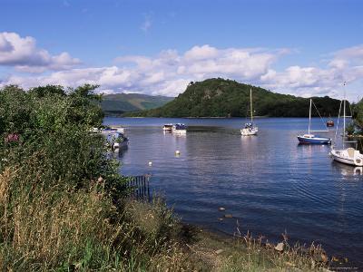 Loch Lomond, Trossachs, Strathclyde, Scotland, United Kingdom-Guy Thouvenin-Photographic Print