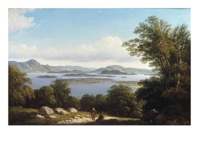 Loch Lomond-John Knox-Giclee Print
