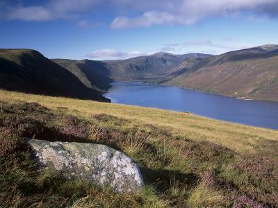 Loch Muick and Lochnagar, Near Ballater, Aberdeenshire, Scotland, United Kingdom, Europe-Patrick Dieudonne-Photographic Print