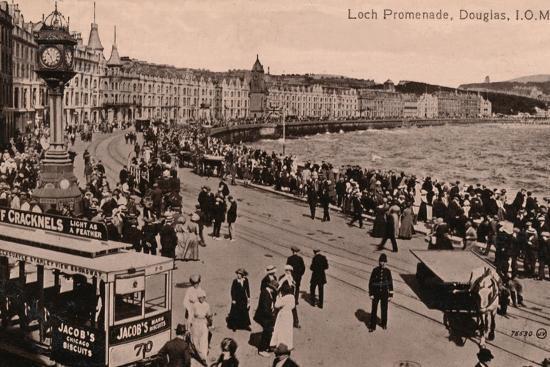 Loch Promenade, Douglas, Isle of Man, c1920-Unknown-Photographic Print