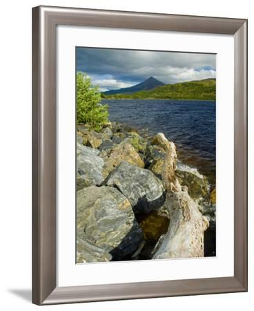 Loch Rannoch, Perthshire, Scotland, United Kingdom, Europe-Ben Pipe-Framed Photographic Print