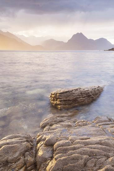 Loch Scavaig and the Cuillin Hills on the Isle of Skye, Inner Hebrides, Scotland-Julian Elliott-Photographic Print