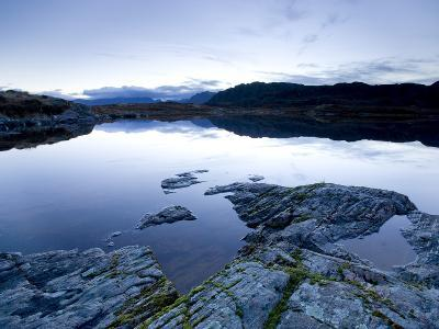 Loch Tollaidh at Dawn, Near Poolewe, Achnasheen, Wester Ross, Highlands, Scotland, United Kingdom-Lee Frost-Photographic Print