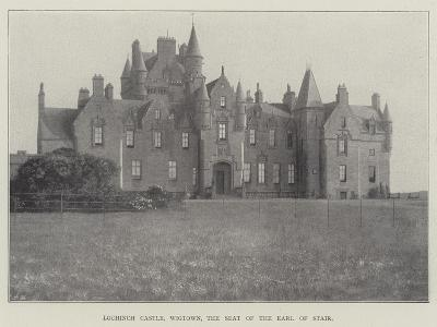 Lochinch Castle, Wigtown, the Seat of the Earl of Stair--Giclee Print