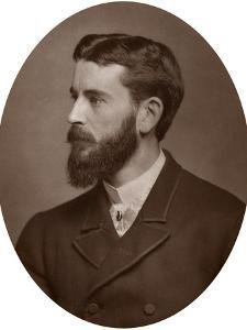 Frank Dicksee, Ara, English Painter and Illustrator, 1883 by Lock & Whitfield
