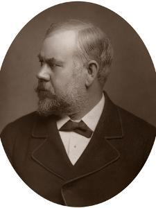 Henry Hugh Armstead, Ra, British Sculptor and Illustrator, 1883 by Lock & Whitfield