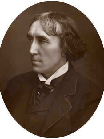 Henry Irving, English Actor, 1883