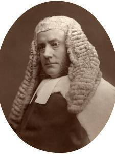 Hon John Walker Huddleston, Baron of the Exchequer, 1876 by Lock & Whitfield