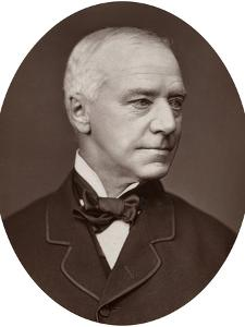 Hon Sir Henry Hawkins, Judge of the Hight Court of Justice, 1877 by Lock & Whitfield