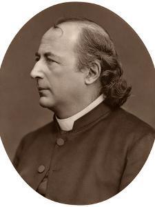 Hyacinthe Loyson (Pere Hyacinth), French Catholic Priest, 1876 by Lock & Whitfield