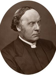 Rev Alfred Barry, Dd, Dcl, Principal of King's College London, 1883 by Lock & Whitfield