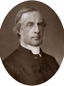 Rev Edward Hayes Plumptre, DD, Dean of Wells, 1883 by Lock & Whitfield