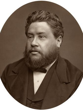 Reverand Charles Haddon Spurgeon, Pastor of the Metropolitan Tabernacle, 1880