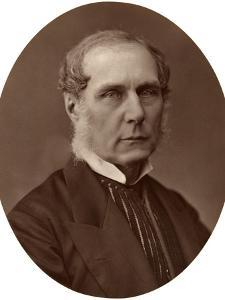 Right Hon Lord Selborne, Ex-Lord High Chancellor of England, 1876 by Lock & Whitfield