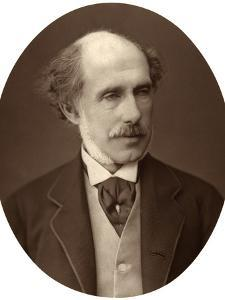 Right Hon William Francis Cowper-Temple, Mp for South Hampshire, 1876 by Lock & Whitfield