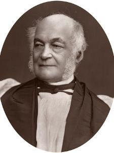 Right Rev George Moberly, DCL, Bishop of Salisbury, 1877 by Lock & Whitfield