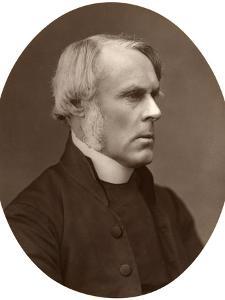 Right Rev John Jackson, DD, Bishop of London, 1876 by Lock & Whitfield