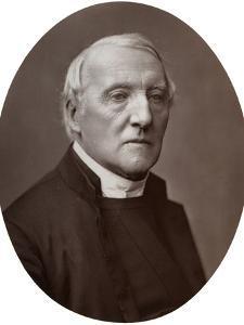 Right Rev Richard Durnford, DD, Bishop of Chichester, 1877 by Lock & Whitfield