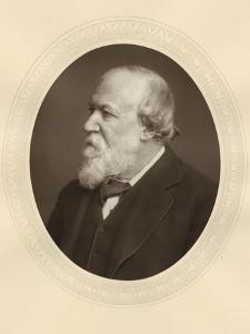 Robert Browning, English Poet and Dramatist, C1880 by Lock & Whitfield