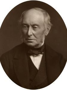 Samuel Morley, Mp, Industrialist and Politician, 1882 by Lock & Whitfield