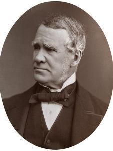 Sir John Hawkshaw, Frs, British Civil Engineer, 1877 by Lock & Whitfield