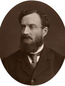 Sir Michael Hicks-Beach, Bart, MP, Chief Secretary for Ireland, 1876 by Lock & Whitfield
