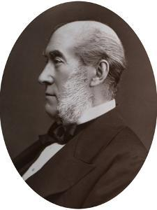 Sir William Fergusson, Bart, Frs, Sergeant-Surgeon to the Queen, 1877 by Lock & Whitfield