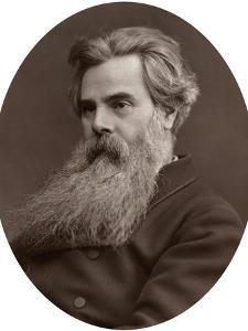 Thomas Woolner, Ra, Professor of Sculpture at the Royal Academy, 1877 by Lock & Whitfield
