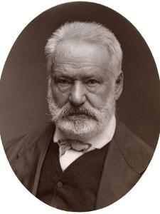 Victor Hugo, French Poet, Dramatist and Novelist, 1877 by Lock & Whitfield