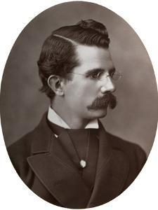 William Black, British Novelist, 1877 by Lock & Whitfield