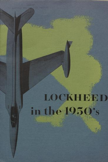 Lockheed in the 1950S', Advertisement for the Lockheed Aircraft Corporation, C.1960--Giclee Print