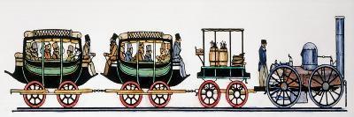 Locomotive, 1831--Giclee Print