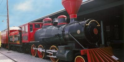 Locomotive at the Chattanooga Choo Choo, Chattanooga, Tennessee, USA--Photographic Print